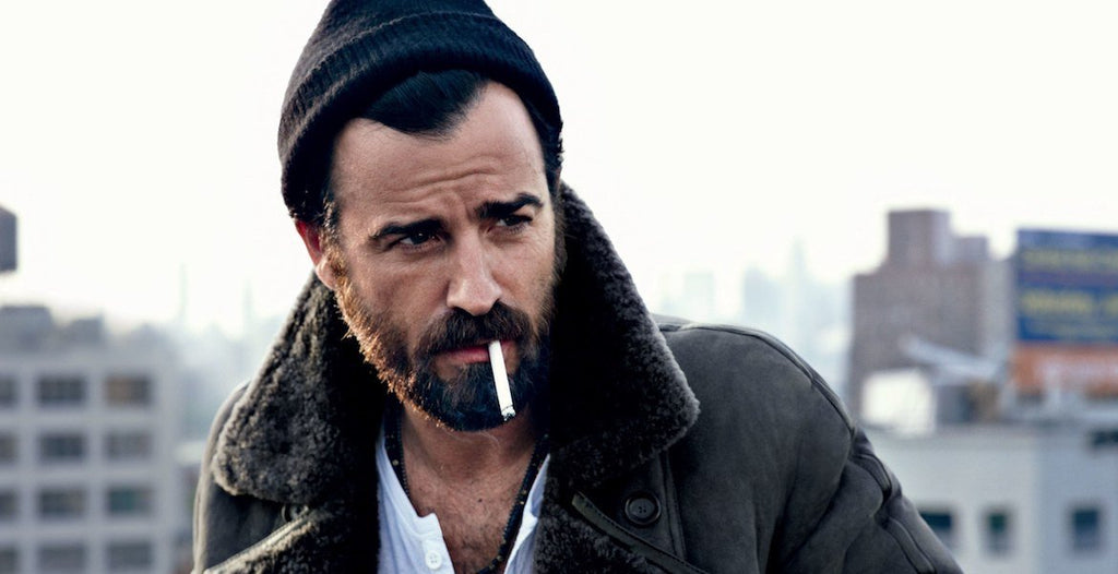 justin theroux moustache mens grooming|murdock-london-marvellous-beard-and-moustache-box-||D.R Harris moustache wax||dr-harris-and-co-ltd-moustache-wax