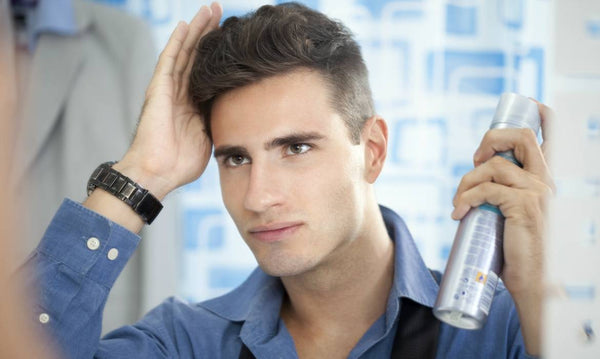 3 Top Reasons Why Men Should Use Hairspray