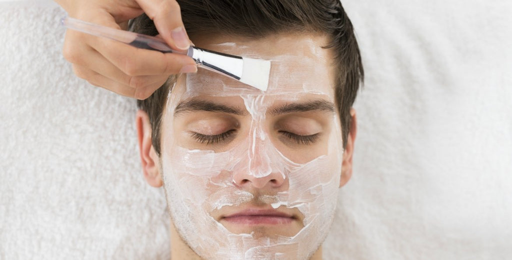 mens-face-mask-applied|Ren Clarimatte Invisible Pore Detox Mask top beast grooming products the idle man|RENSKINCARE-1-minute-facial|LA Bruket clay masks|cleansing clay anthony deep pore|Anthony skin care facial serum