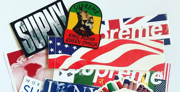 supreme stickers collectors|sup stickers