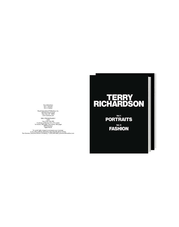 Terry Richardson Portraits Book