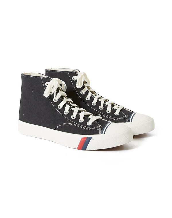 Pro Keds Royal - Hi Classic Canvas Black/White
