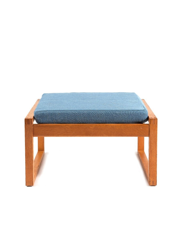 PUSH / / PULL - Borge Mogensen Model 2248 Footstool Brown
