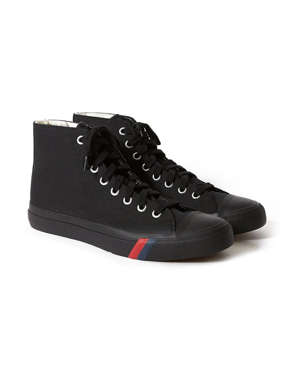 Pro Keds Royal - Hi Classic Canvas All Black