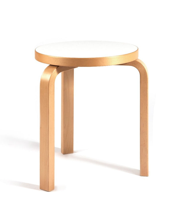 PUSH / / PULL - Vintage Artek Stool 60 Brown