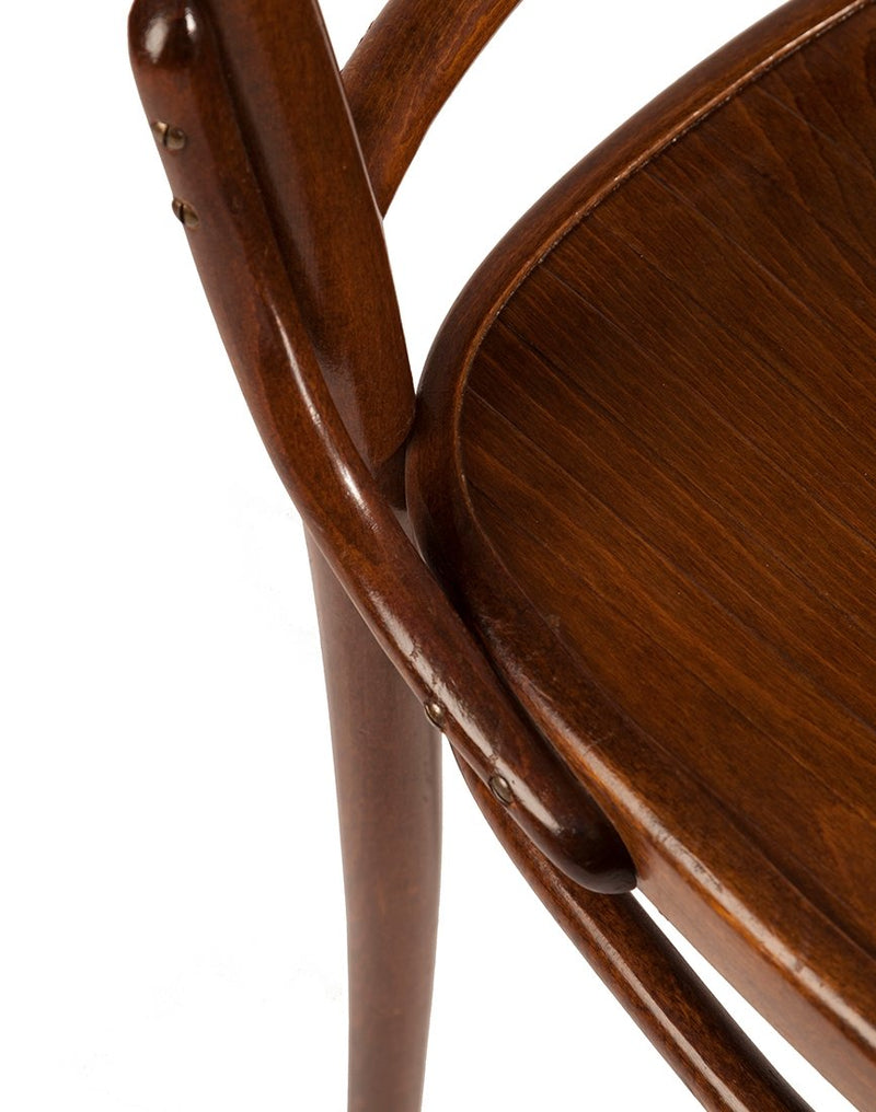 PUSH / / PULL - Vintage Bentwood Chair Brown