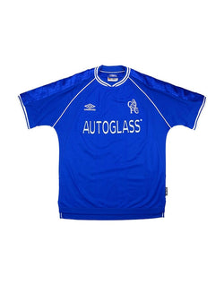 Classic Football Shirts - 1999-01 Chelsea Home Shirt
