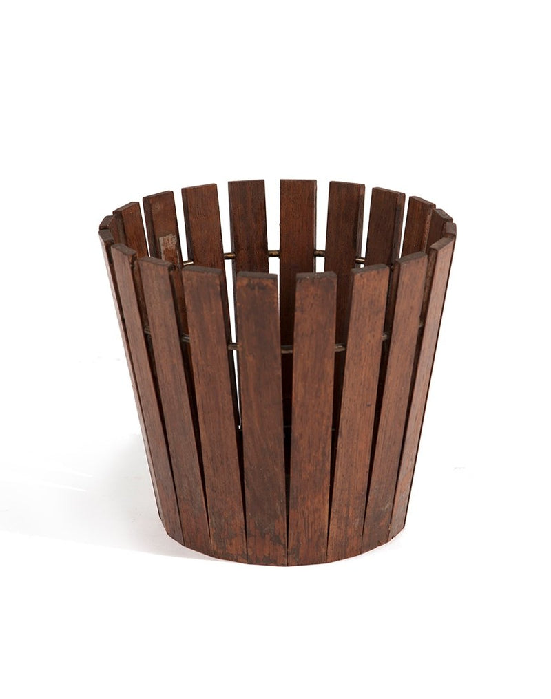 PUSH / / PULL - Gladlyn Ware Vintage Planter Brown