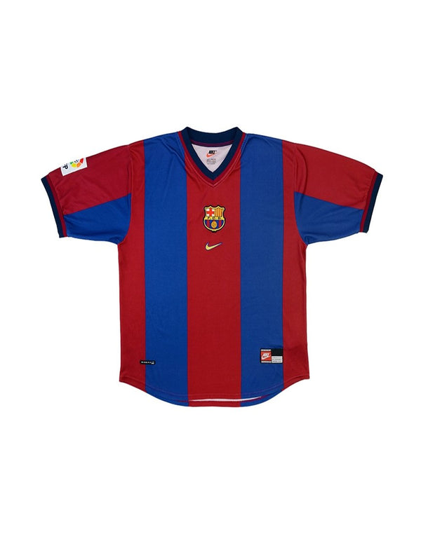 Classic Football Shirts - 1998-00 Barcelona Home Shirt