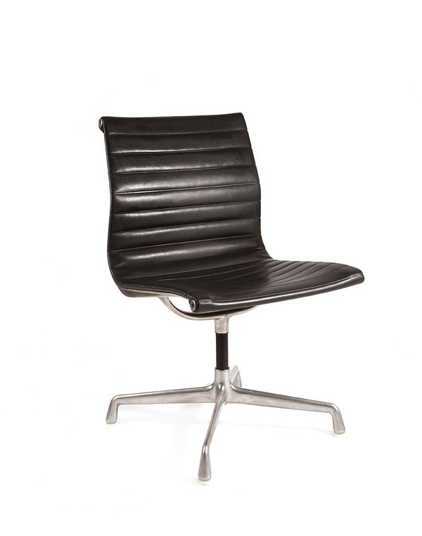 PUSH / / PULL - Vintage Herman Miller EA106 Chair Black