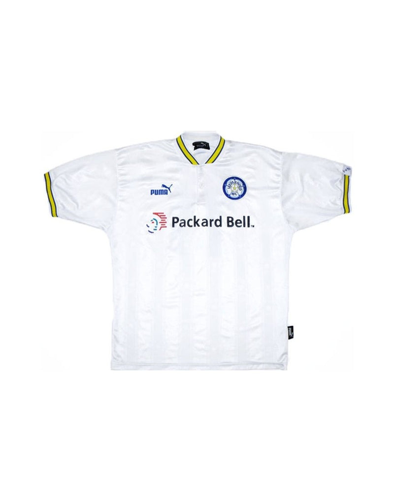 Classic Football Shirts - 1996-98 Leeds United Home Shirt