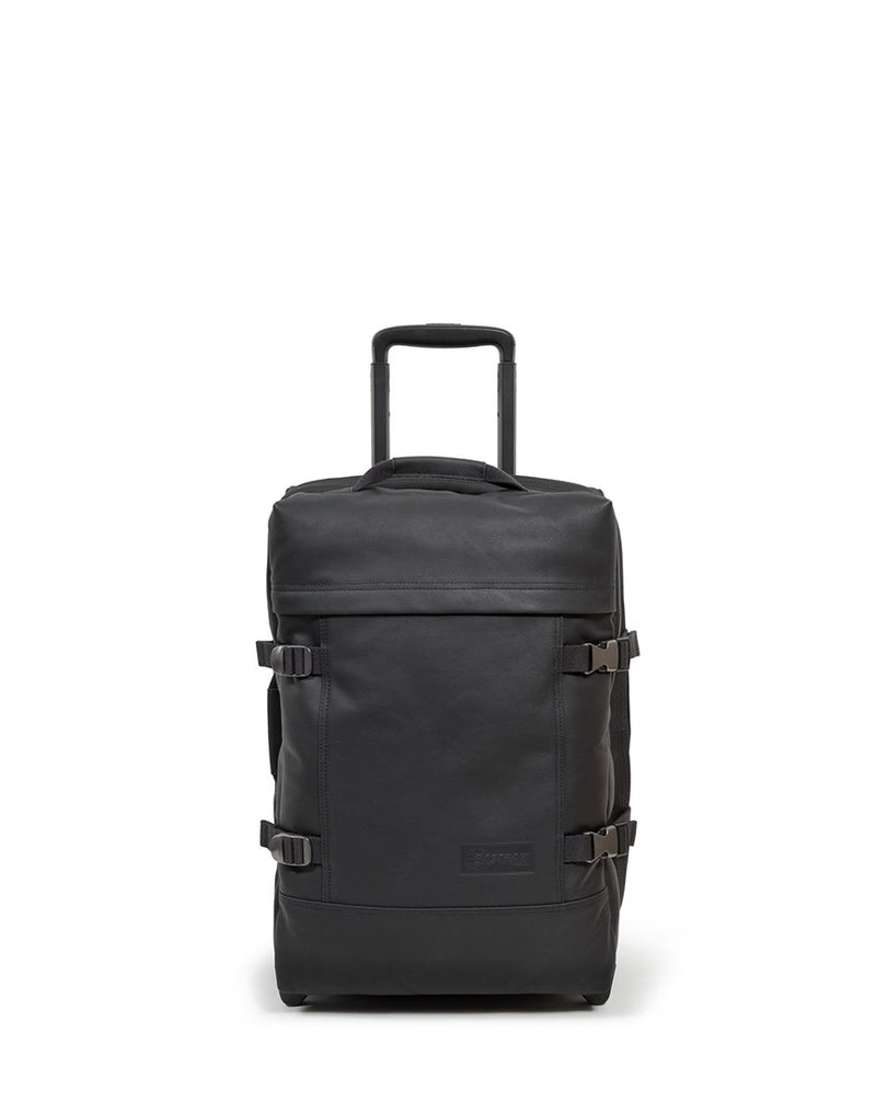 Eastpak - Tranverz s Travelbag Black Leather