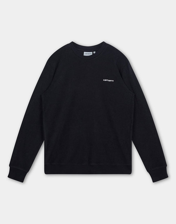 Carhartt WIP - Terry Sweatshirt Black
