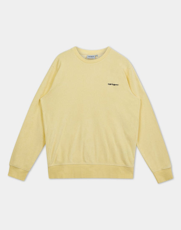 Carhartt WIP - Terry Sweatshirt Yellow