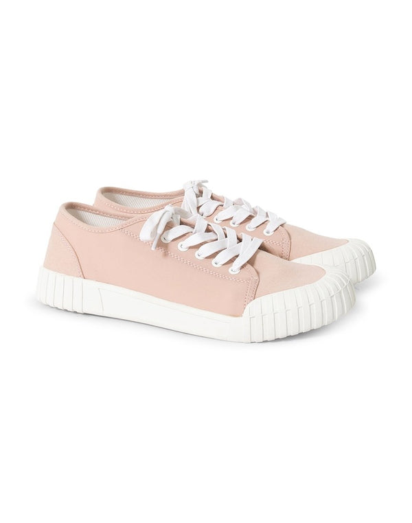 Good News - Chopper Low Plimsolls Pink