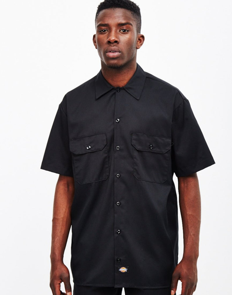 Dickies - Short Sleeve Work Shirt Black