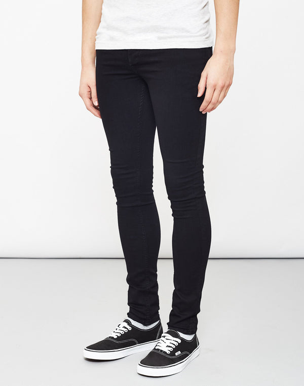 The Idle Man - Super Skinny Jeans Black