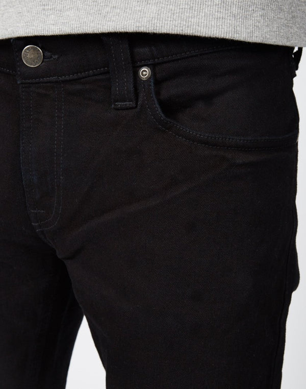 Nudie Jeans Co - Tight Long John Organic 'Black Black' Jeans