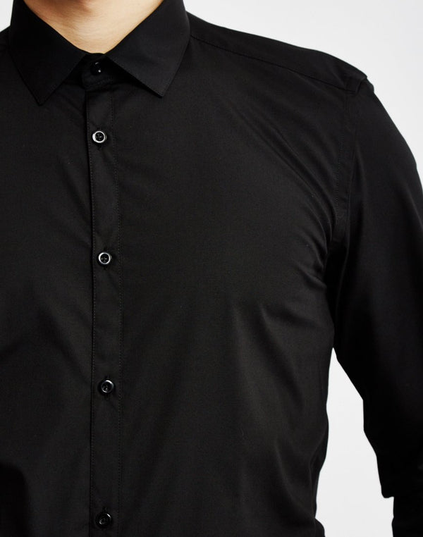 The Idle Man - SmarT-Shirt in Black