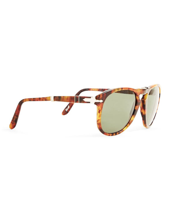 Persol - Foldable Crystal Lens Sunglasses PO0714 Brown