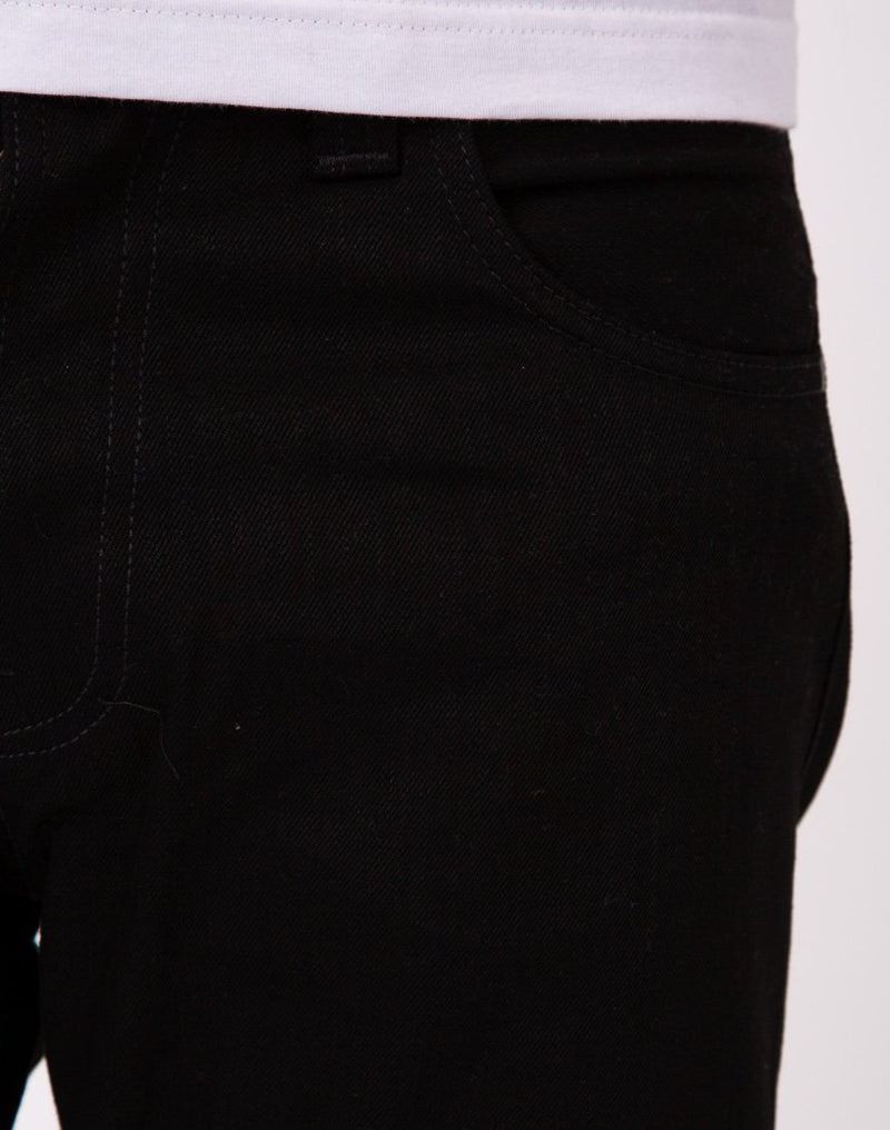 Nudie Jeans Co - Steady Eddie Dry Black Jeans