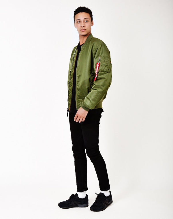 Alpha Industries - Classic MA1 Vintage Fit Bomber Jacket Sage Green