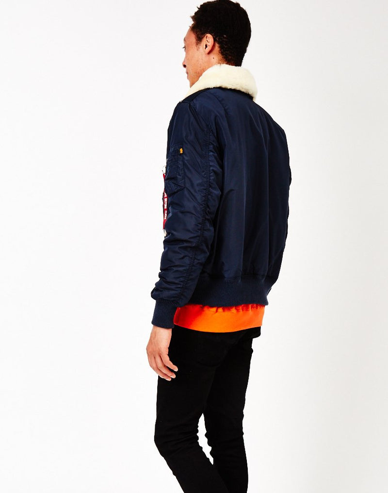 Alpha Industries - Injector Flight Jacket Rep Blue