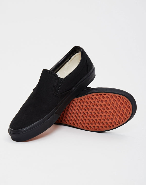 Vans - Slip-On Plimsolls All Black