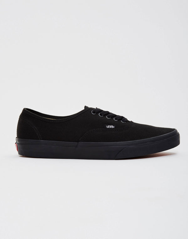Vans - Authentic Canvas Plimsolls All Black