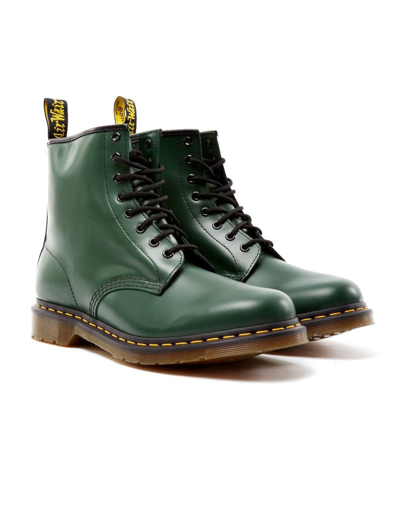 Dr Martens - 8 Eye Classic Boot Green