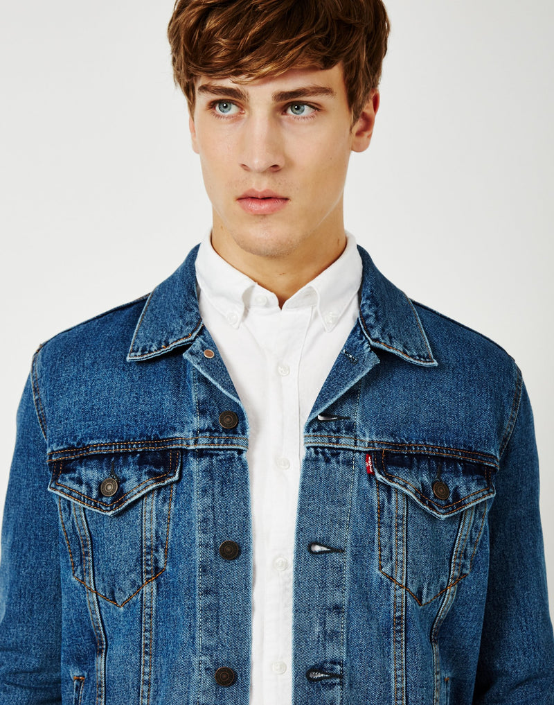 Levi's - The Trucker Jacket Light Stonewash Blue