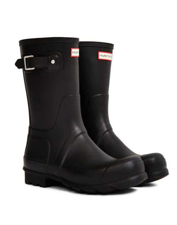 Hunter Original - Short Rain Boot Black