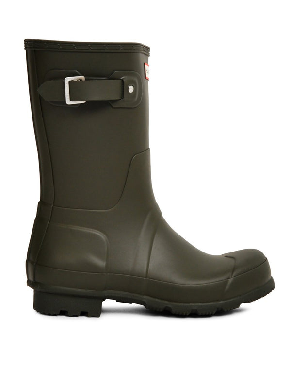 Hunter Original - Short Rain Boot Green
