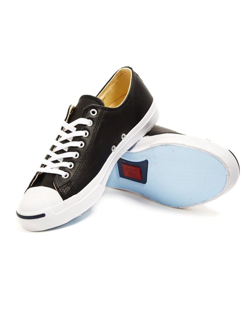Converse - Jack Purcell Jack Leather Trainer Black