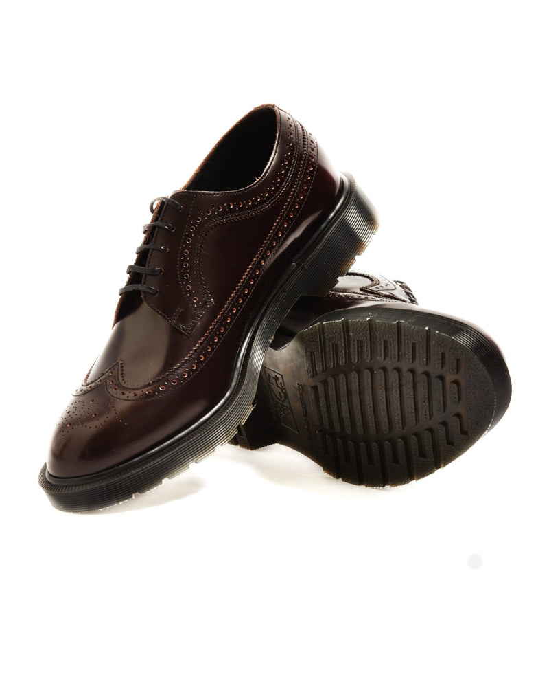 Dr Martens - Made In England Classic Brogue Shoe Burgundy
