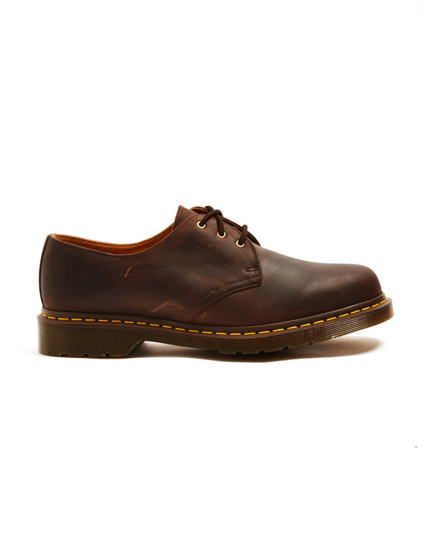 Dr Martens - 3 Eye Rugged Shoe Brown