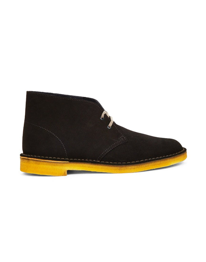 Clarks Originals - Suede Desert Boot Dark Grey-7