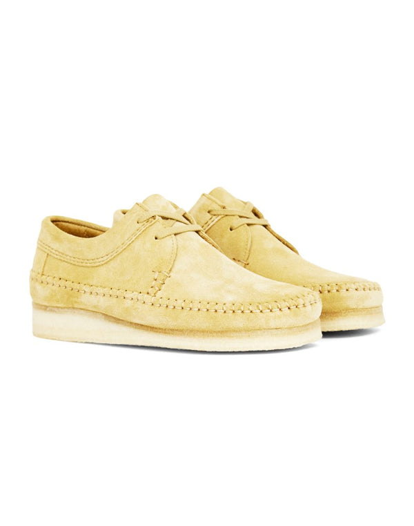 Clarks Originals - Weaver Off White