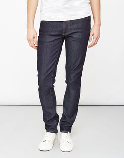 Nudie Jeans Co - Lean Dean Dry 16 Dips Jeans Blue
