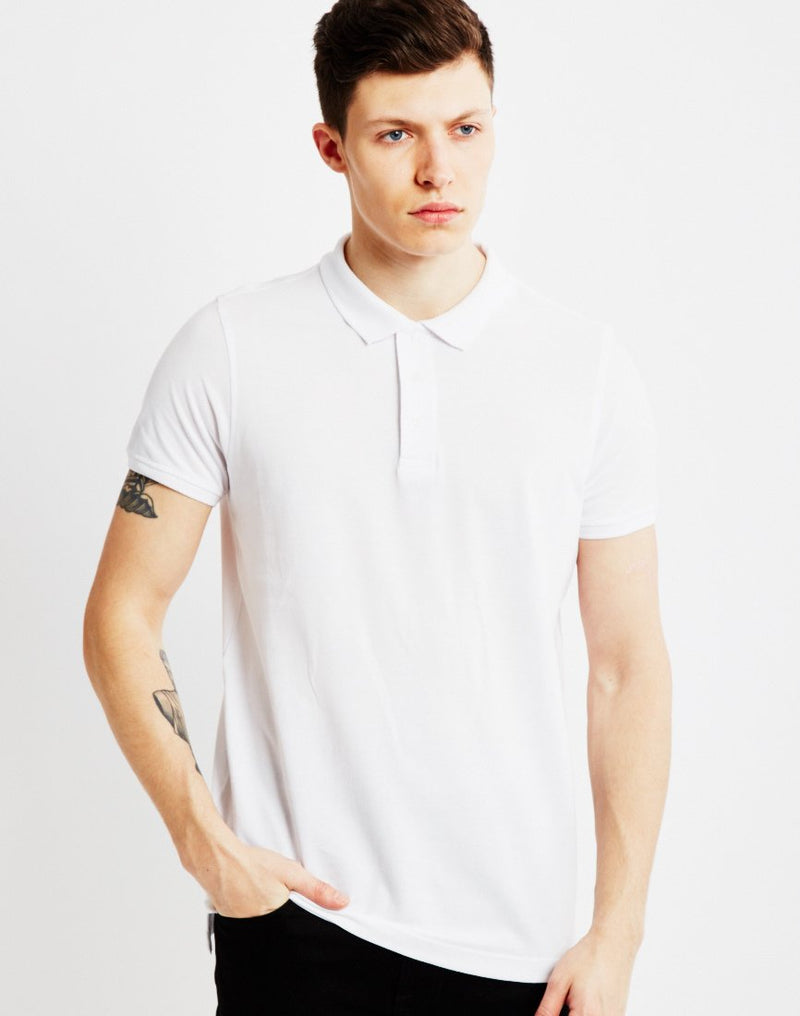 The Idle Man - Polo Shirt White