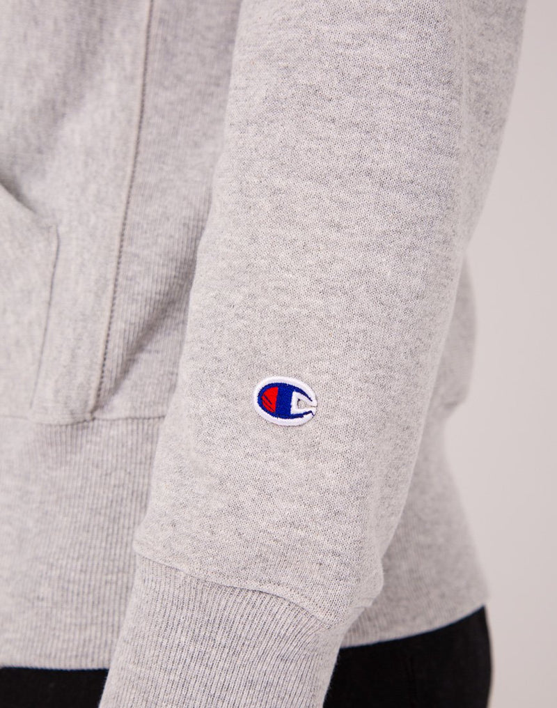 Champion - Scripted Logo Hoody Grey
