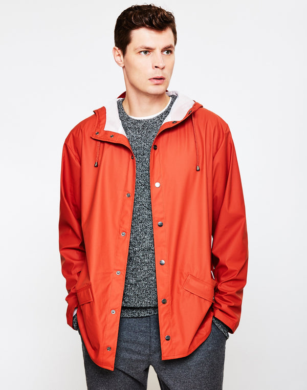 Rains - Jacket Rust Brown