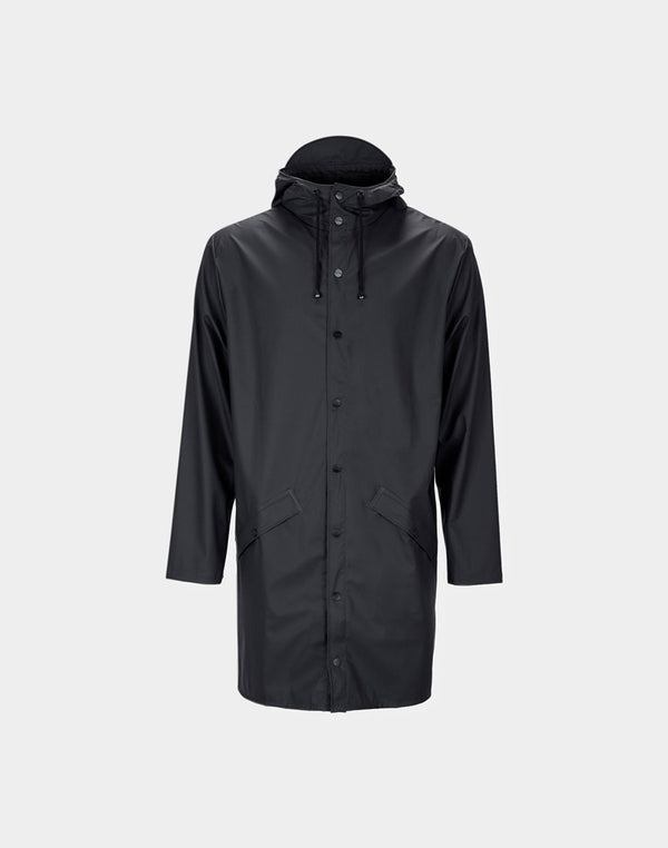 Rains - Long Jacket Black