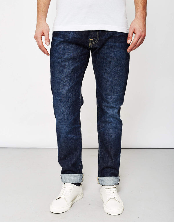 Edwin - ED-55 Red Listed Selvedge Relaxed Tapered 14oz Washed Jeans