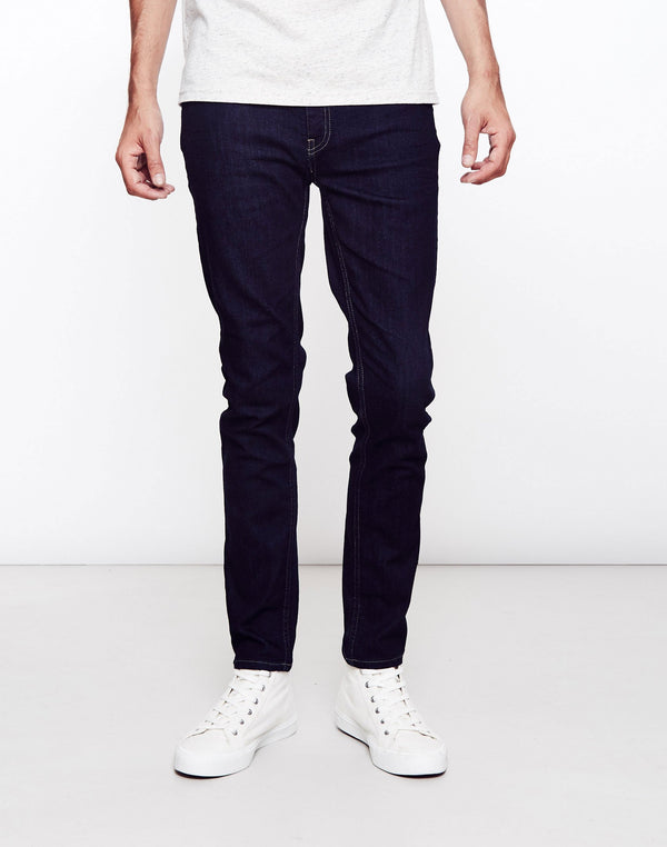 Farah - Drake Soft Stretch Rinse Jeans Navy