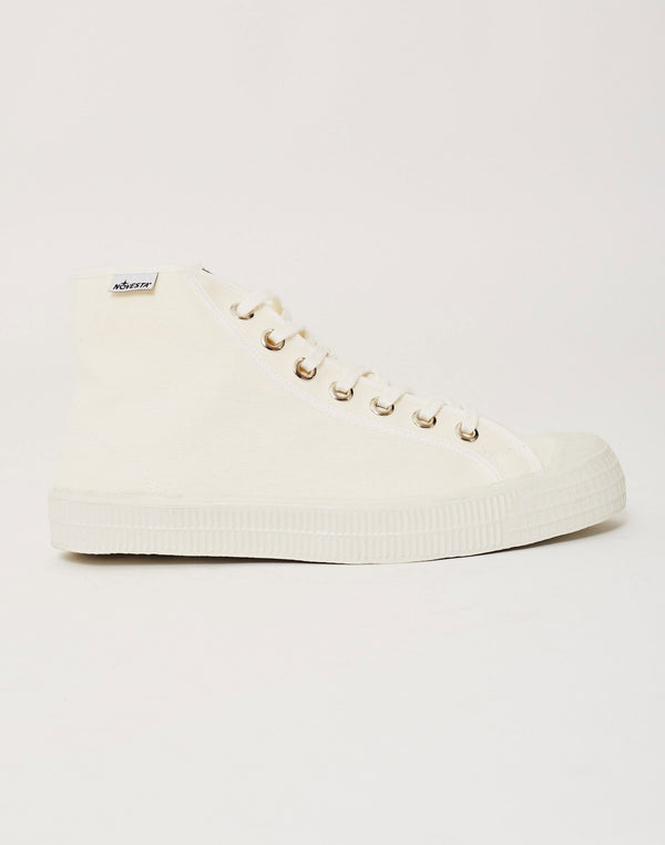 Novesta - Star Dribble Hi-Plimsoll Off White