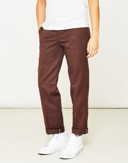 Dickies - 873 Slim Work Pant Chocolate Brown
