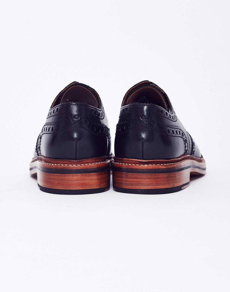 Grenson - Archie Leather Brogue Black