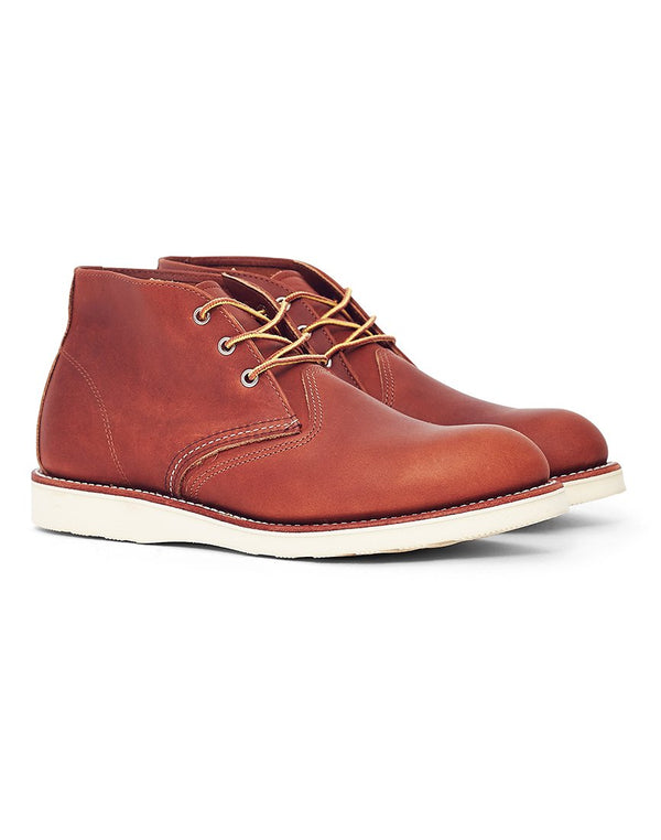 Red Wing - Heritage Work Chukka Leather Tan