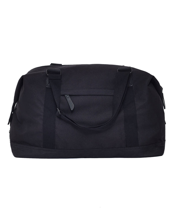 The Idle Man - Vintage Overnight Bag Black